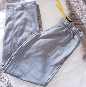 Nike Therma-Fit Livestrong Gray Yellow Sweatpants